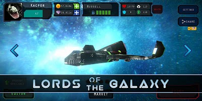 Lords Of The Galaxy 3D - Build & Destroy