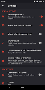 Quick Video Recorder Screenshot