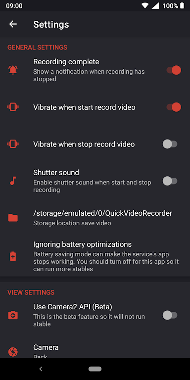 Quick Video Recorder - Background Video Recorder  poster 6