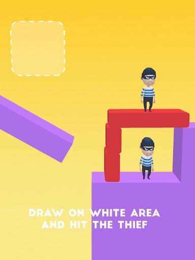 Draw & Hit: Kick the Robber! apkdebit screenshots 16