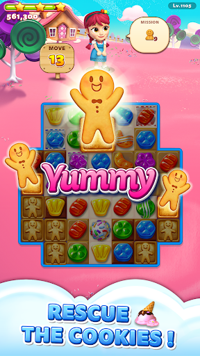 Sweet Road: Cookie Rescue Free Match 3 Puzzle Game screenshots 5