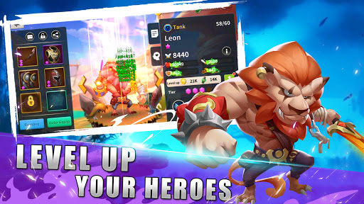 AFK Summoner : fantasy hero war  screenshots 2