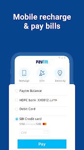 Paytm -UPI, Money Transfer, Recharge, Bill Payment 3