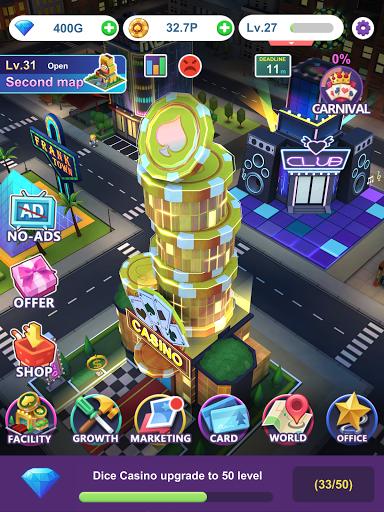 Crazy Night:Idle Casino Tycoon 0.27 screenshots 12