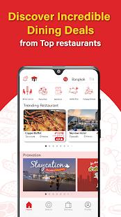 Hungry Hub - Thailand Dining Offer App 5.7.9 Screenshots 1