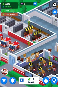 Idle Firefighter Tycoon APK , Fire Emergency Manager APK Download 8