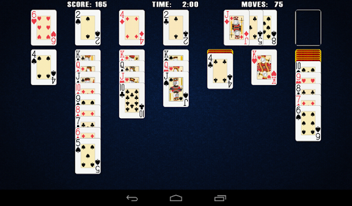 solitaire by prestige gaming screenshot 2