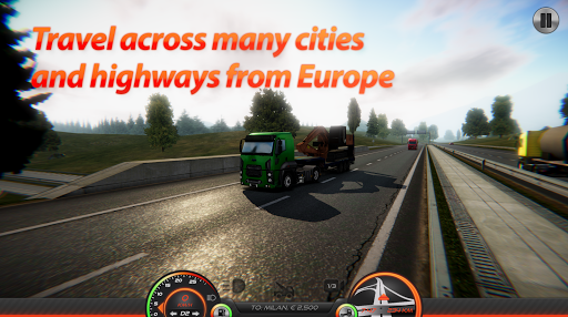 Truck Simulator : Europe 2 0.36 screenshots 7