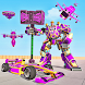 Multi Robot Car Game: Formula Car Robot Transform