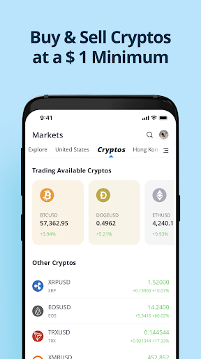 Webull: Investing & Trading. All Commission Free android2mod screenshots 2