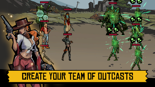 Days of Doomu2122 - Post-apocalyptic PvP RPG  screenshots 13