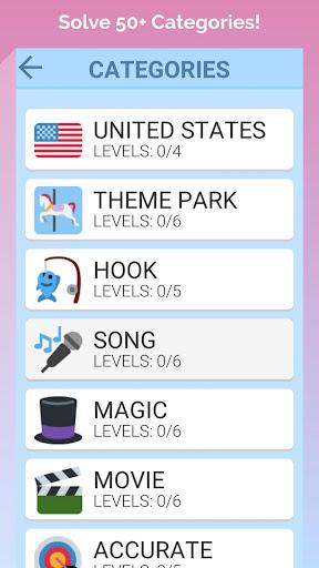 word swipe game - search games puzzle: word stacks screenshot 2