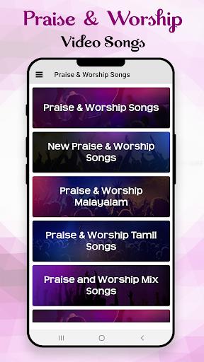 Praise & Worship Songs: Gospel Music & Song Videos 14.5 screenshots 1