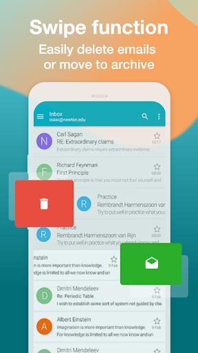 Email Aqua Mail - Exchange, SMIME, Smart inbox  Screenshots 6