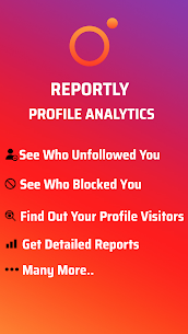 Reportly – for Instagram profiles 1