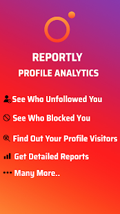 Reportly - for Instagram profiles