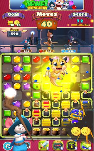 Jewel Dungeon - Match 3 Puzzle 1.0.99 screenshots 21