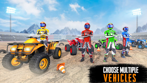 ATV Quad Bike Stunts: 4x4 Offroad Demolition Derby android2mod screenshots 10