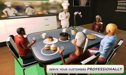 MY restaurant Manager: Virtual manager games 3D 2