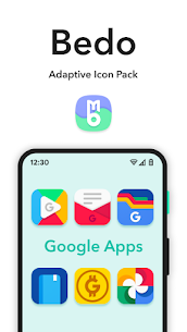 Bedo Adaptive Icon Pack APK (PAID) Download Latest 7