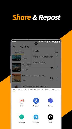 Video Downloader, Private File Downloader & Saver apktram screenshots 5