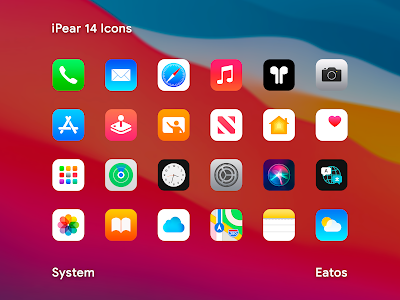 iPear 14 - Icon Pack 1.1.2 (Patched)