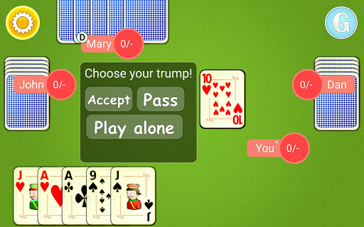 Euchre Mobile android2mod screenshots 9