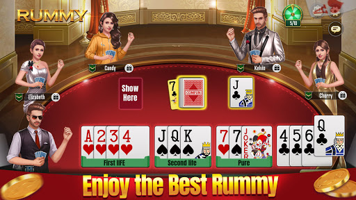 Indian Rummy Comfun-13 Cards Rummy Game Online  screenshots 1