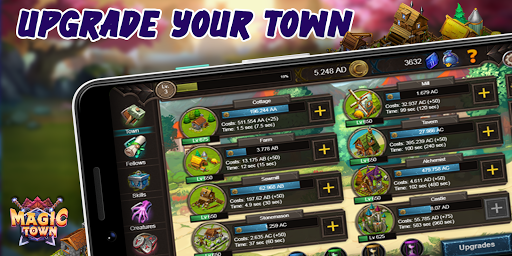 Idle Magic Town 1.0.3.5 screenshots 2