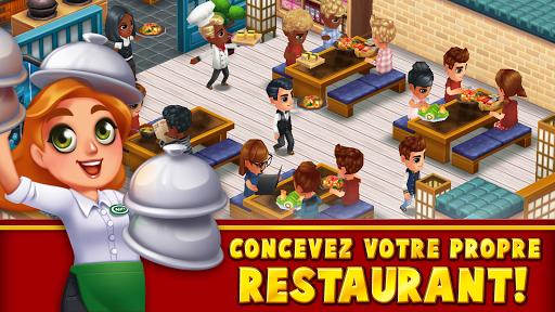Télécharger Food Street - Jeu de Restaurant  APK MOD (Astuce) screenshots 1
