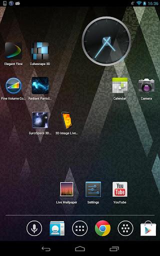 3D Image Live Wallpaper  screenshots 3