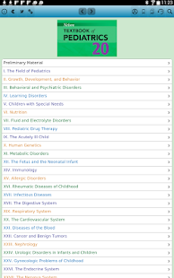 Nelson Textbook of Pediatrics Screenshot