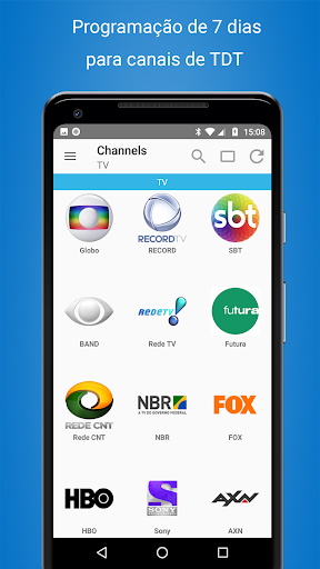 Programação TV Brasil - Cisana TV+ 1.12.9 screenshots 2