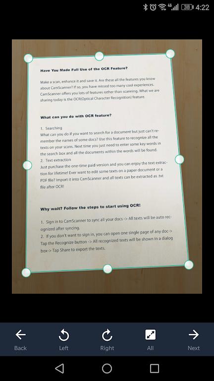 CamScanner - Scanner to scan PDF  poster 6