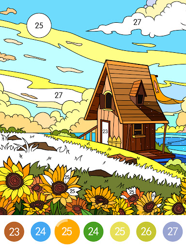 Coloring - color by number 1.1.7 screenshots 7