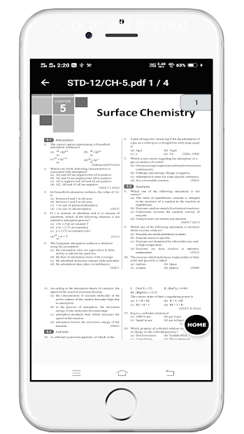 33 YEAR NEET CHEMISTRY PAST PAPER WITH SOLUTION screenshot 8