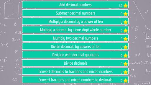 decimals - fifth grade math skills screenshot 1