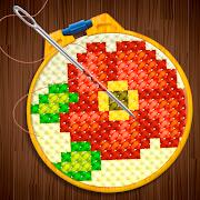 Knitting Master - Cross Stitch Art Sewing Game