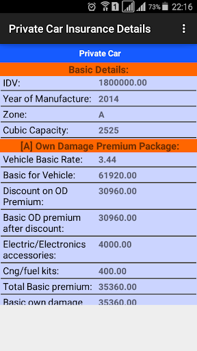 Motor Insurance Calculator android2mod screenshots 5