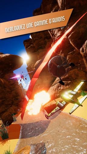 Code Triche Danger Darrel | 3D Airplane Race Action Adventure  APK MOD (Astuce) screenshots 1