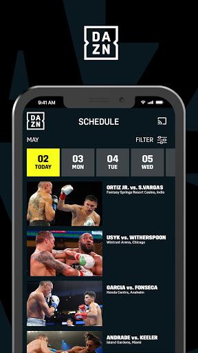 DAZN: Live Sports Streaming  Screenshots 2