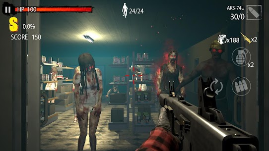 Zombie Hunter D-Day 1.0.801 Mod + Data Download 2