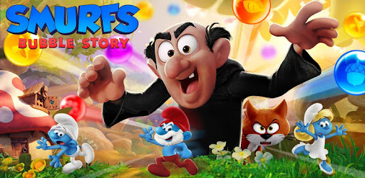 Smurfs Bubble Shooter Story Apps On Google Play