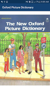 Oxford Picture Dictionary offline book app 2020