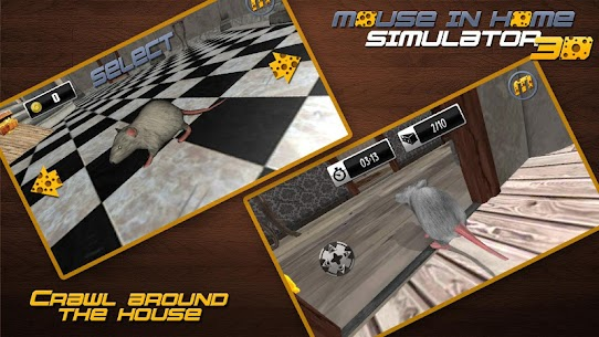 Mouse in Home Simulator 3D Mod Apk 2.9 (Unlimited Money, No Ads) 11