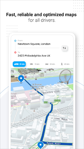 GPS Live Navigation, Maps, Directions and Explore android2mod screenshots 9
