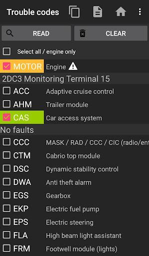 bimmer-tool (BTool) Lite 2.202-lite Screenshots 1
