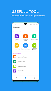 Full Cleaner:Easily save space