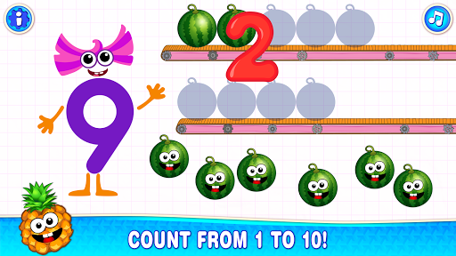 Learning numbers for kids! Writing Counting Games! apkslow screenshots 4