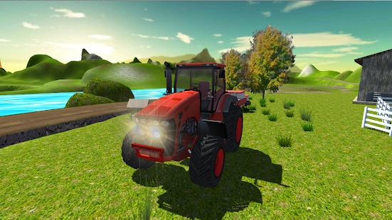 Offroad Tractor Trolley Farming Simulator 2 screenshots 1
